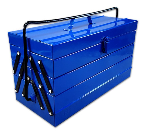 caja de herramientas metalica efm nº 8  tipo fuelle