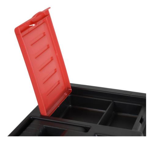 caja de herramientas plástica 12.5'' omaha + bandeja