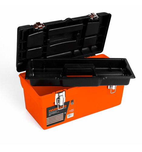 caja de herramientas plastica 16  420x22,5x21 hamilton cp16