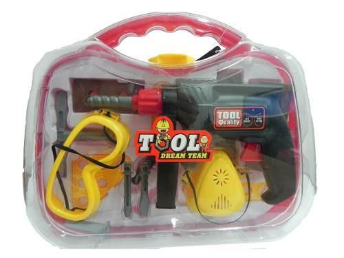 caja de herramientas power tools smart completa juguetes