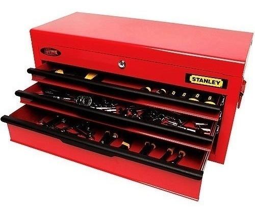 caja de herramientas taller stanley 122 piezas prof 70-158