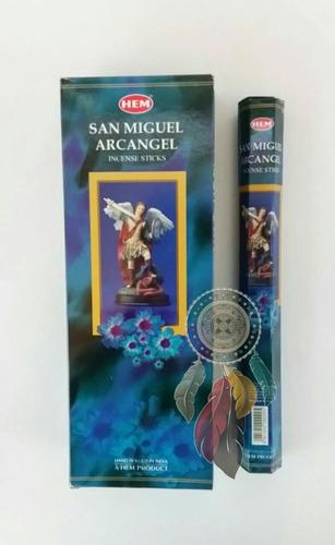 caja de inciensos san miguel arcángel - protección