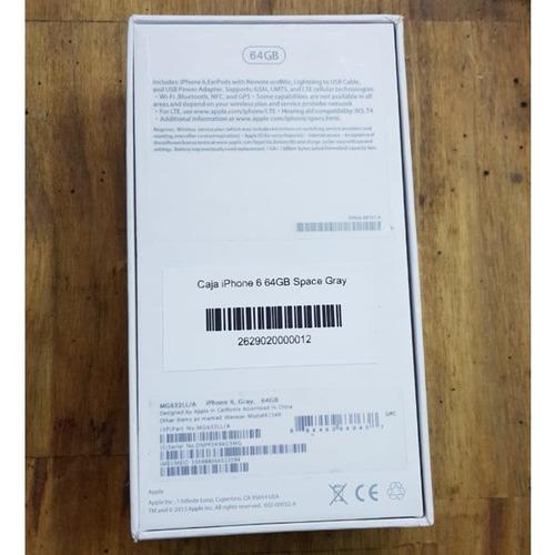 caja de iphone 6 16gb / iphone 6 64gb excelente estado nuevo