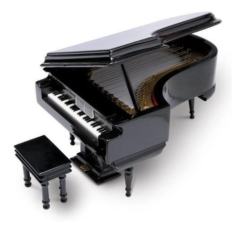 caja de joyeria 8 negro piano de cola