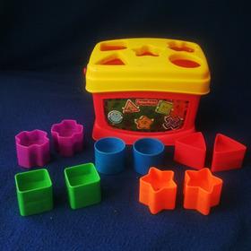 Caja De Juego De Figuras Geométricas Fisher Price