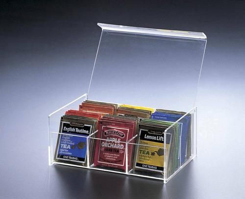 caja de la bolsa de té del compartimento del  + envio gratis