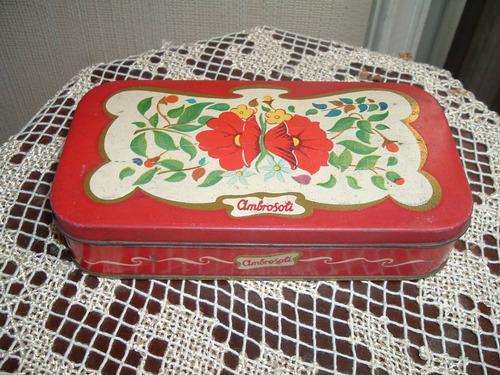caja de lata ambrosoli