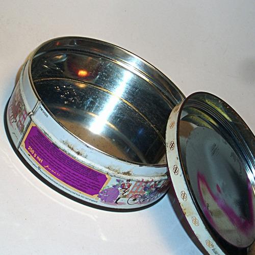 caja de lata chocolates ingleses mackintosh's vacías,usadas