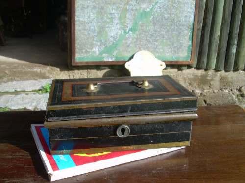 caja de laton para la plata