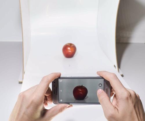 caja de luz fotografia mini estudio 46x46x50cm