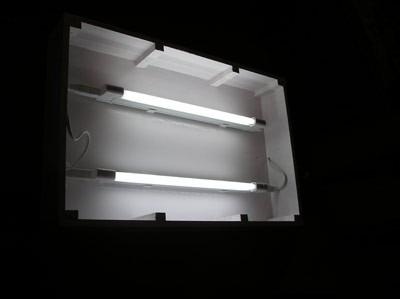 Caja de luz led para exterior u s en mercado libre for Luz de led para exterior
