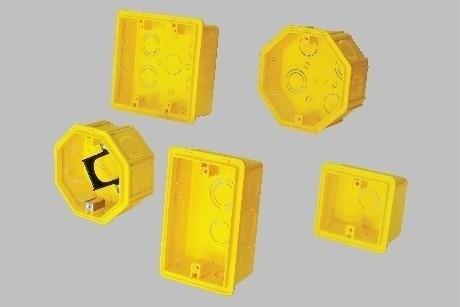 caja de luz  octogonal cuadrada rectangular
