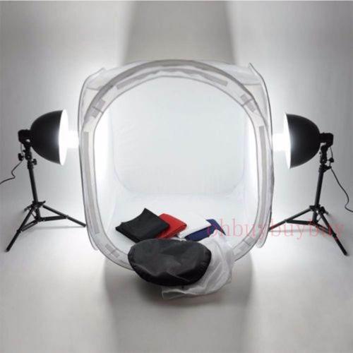 caja de luz portatil para fotografia 40x40 cms