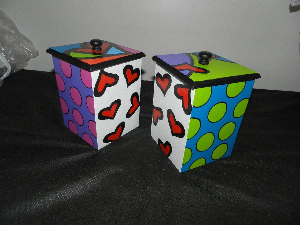 Cajas madera pintadas caja de madera pintada a mano para - Cajas de madera pintadas a mano ...