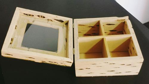 caja de madera de cactus de tilcara.