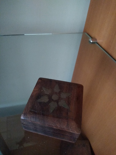 caja de madera (india)