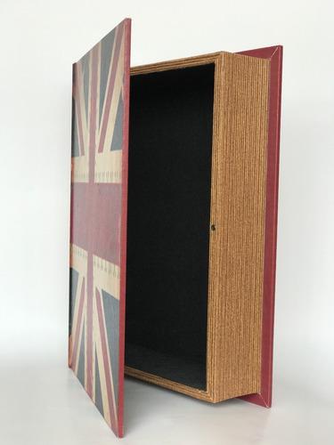 caja de madera, libro london
