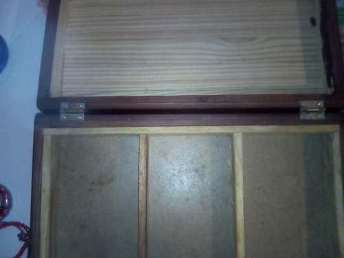 caja de madera organizador