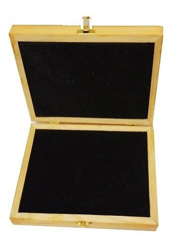 caja de madera para regalo con cerradura