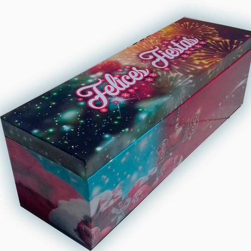 caja de madera personalizada con bebida!! (vino)