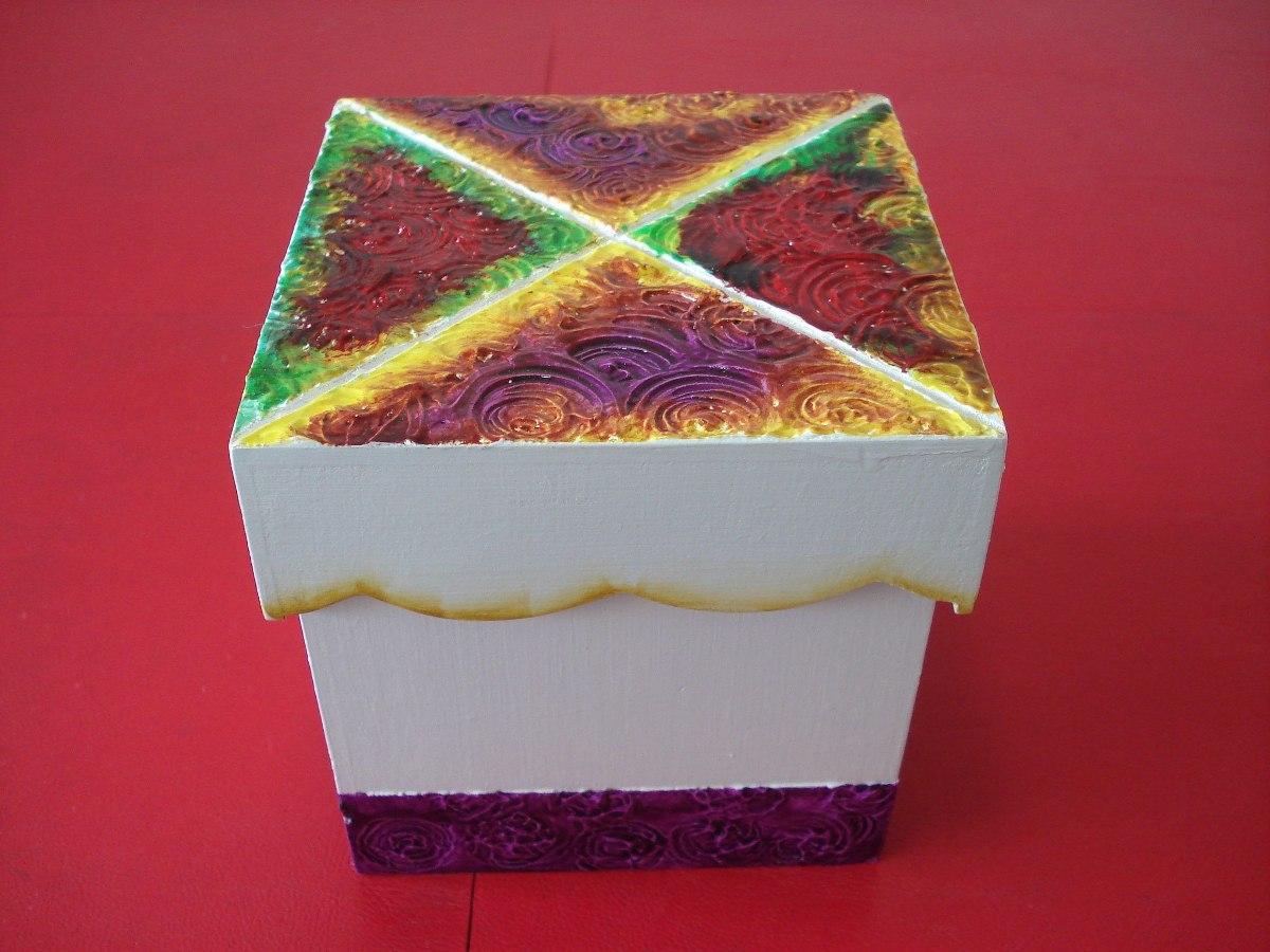 Cajas madera decoradas cajas de madera decoradas mas - Cajas decoradas a mano ...