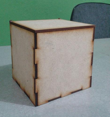 Caja de mdf 10 x 10 x 10 con tapa recuerdito madera for Caja madera con tapa