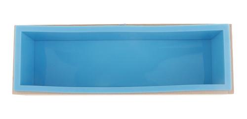 caja de molde de barra de silicona de jabón para poder