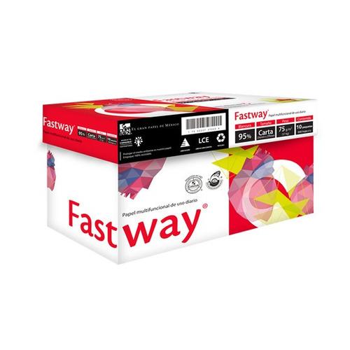 caja de papel tamaño carta marca fastway c/5000 hojas...