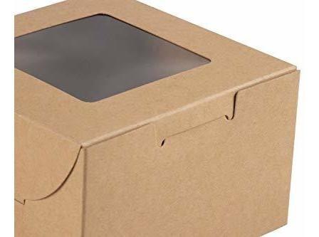 caja de pastel rr paquete de 25 cajas de pasteleria desechab