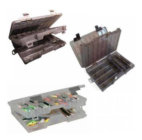 caja de pesca doble relix tipo plano 4700 divisiones - @dcp