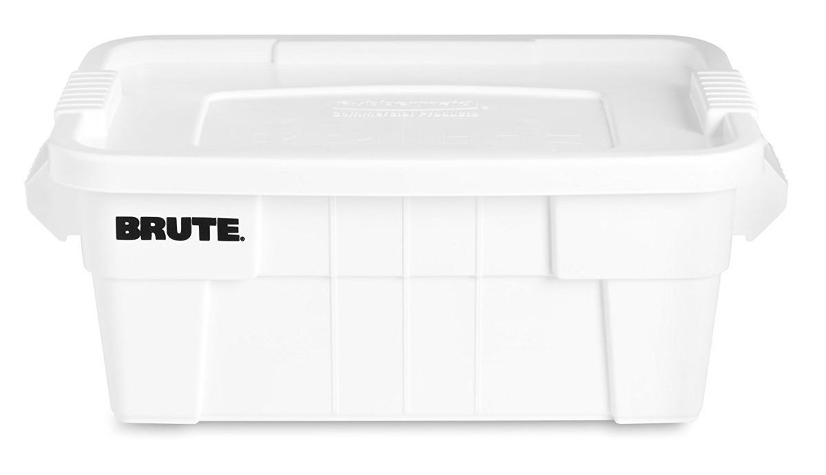 Caja de plastico almacenaje grado comercial rubbermaid - Caja almacenaje plastico ...