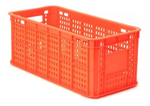 caja de plástico boston calada nueva