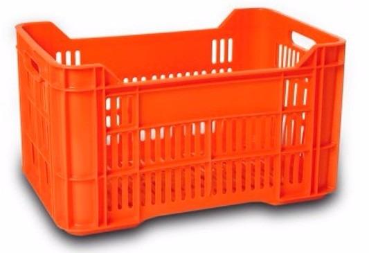 Caja de pl stico calada caja agricola tipo tijuana for Cajas de plastico precio
