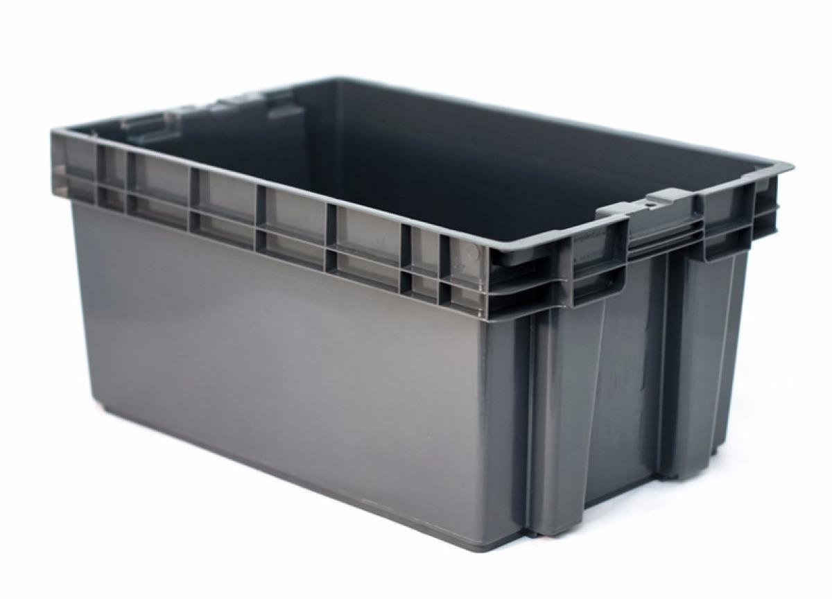 Caja de plastico toronto cerrada en mercado libre - Cajas apilables de plastico ...