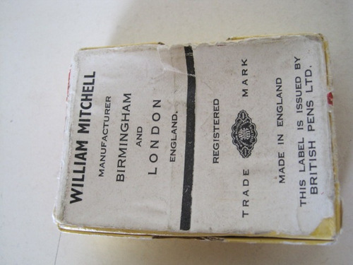 caja de plumas williams mitchell