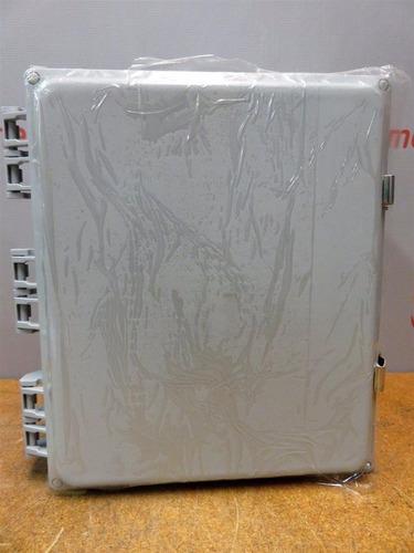 caja de polycarbonato tessco nema 4 v12106-l-o-4-gm2