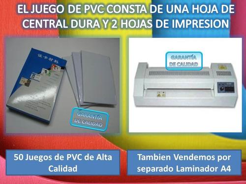 caja de pvc para 500 credenciales