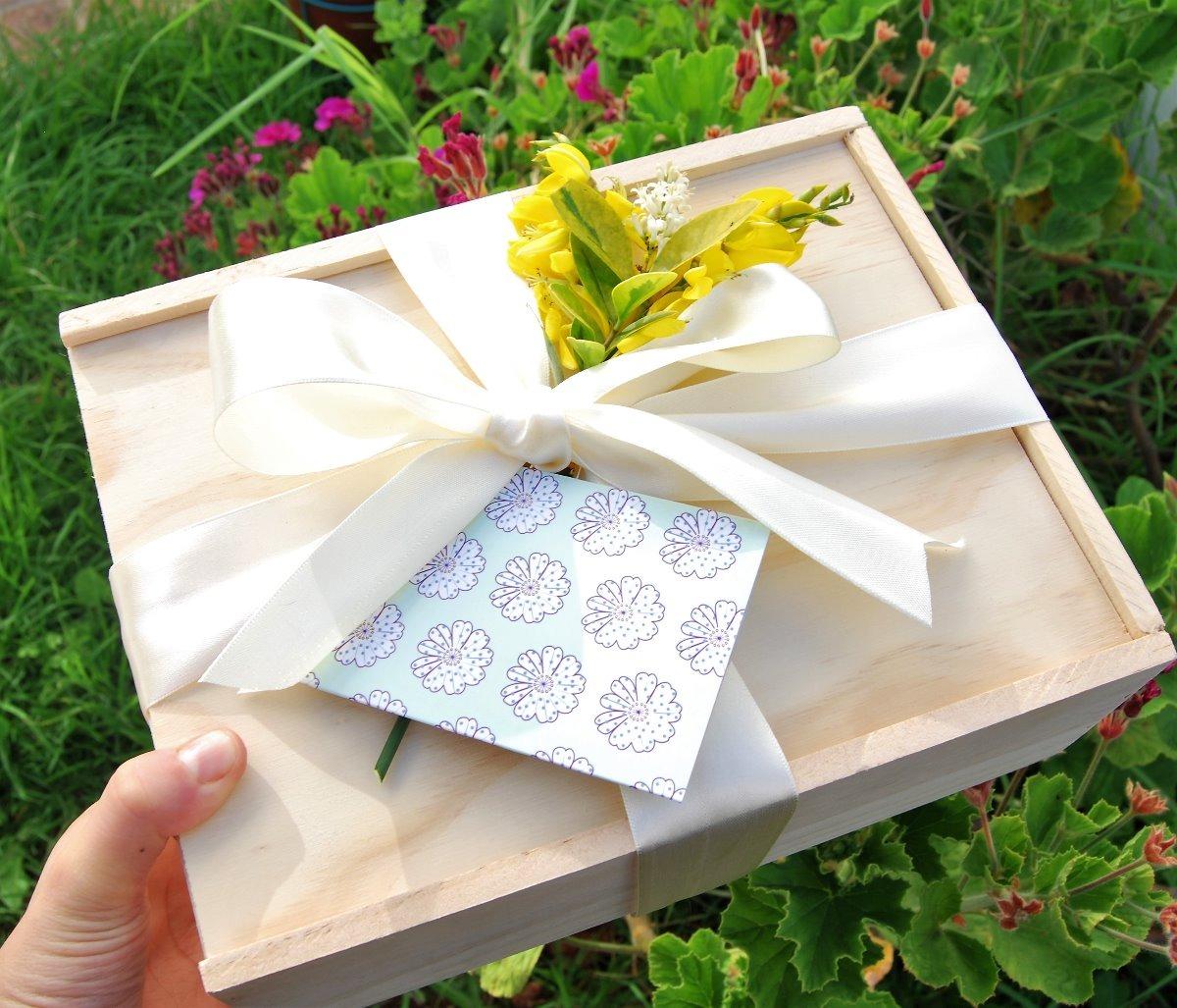 Caja de regalo para mam o embarazada baby shower navidad - Regalo navidad mama ...