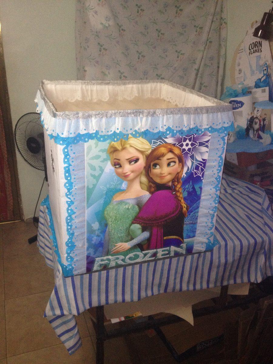 Caja De Regalos Frozen Luna Peppa Superman Avenger Princesa Bs