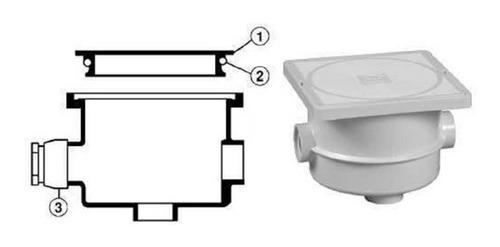 caja de registro abs hayward para reflector  de alberca