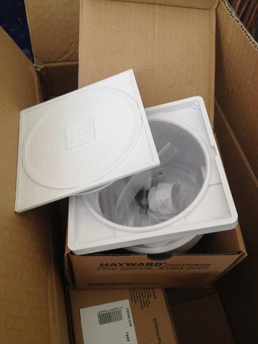 caja de registro abs para reflector lampara alberca hayward