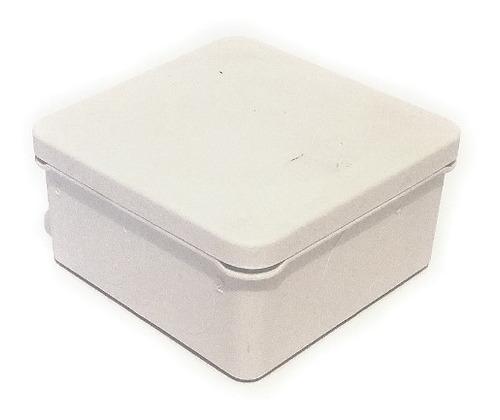 caja de registro estanca ip55 8x8x4.5 (sin conos)