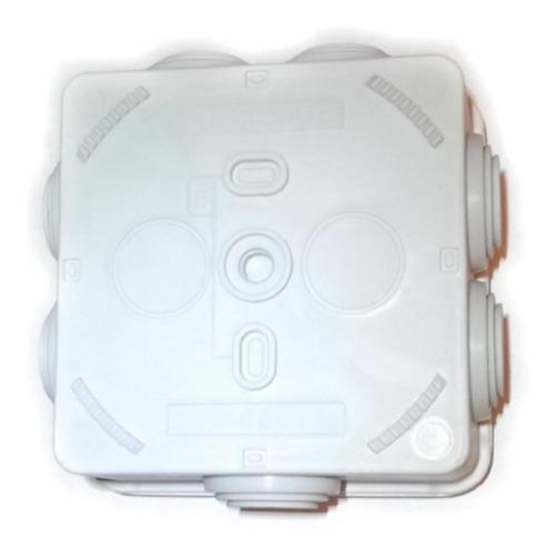caja de registro estanca para conexiones cctv  ip55 8x8x5
