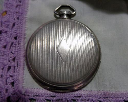caja de reloj cadena election,plata 900,antiguedad 100años
