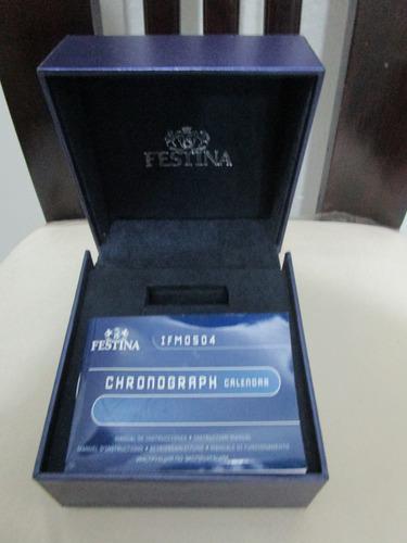 caja de reloj festina original con su manual