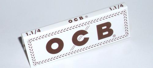 caja de rolling paper ocb 1.1/4 combustión extra lenta!