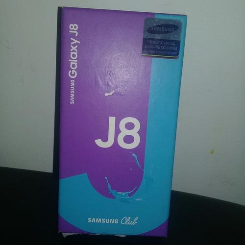 caja de samsung galaxy j8