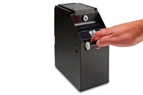caja de seguridad pos antirobo accubanker s-200 local tienda