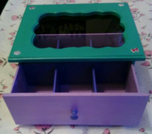 caja de te \ organizadora a tu gusto !