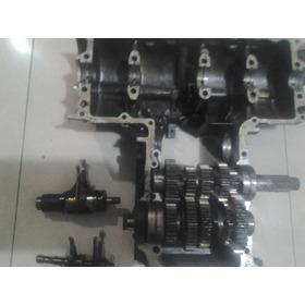 Caja De Velocidad Y Media Carcasa   Honda Cb 650